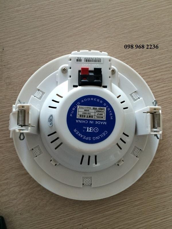 Thiết kế của Loa OBT 608