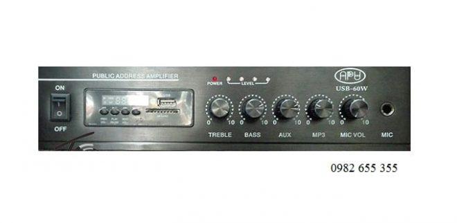 Amply APU USB 60W nhập khẩu chính hãng
