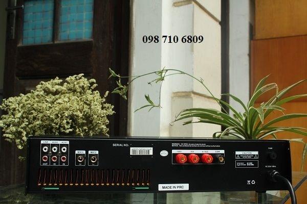 Mặt sau Amply DB LP-480F
