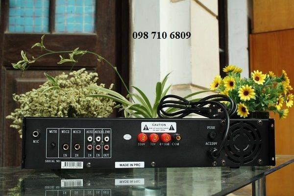 Mặt sau Amply DB LP-150F