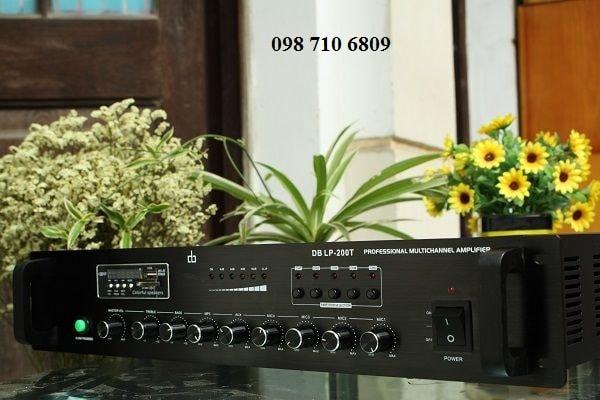 Amply DB LP-200T amply chia 5 vùng 200W chính hãng