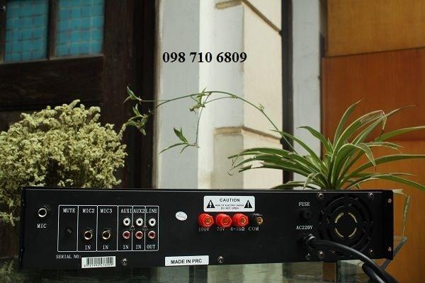 Mặt sau Amply DB LP-280F