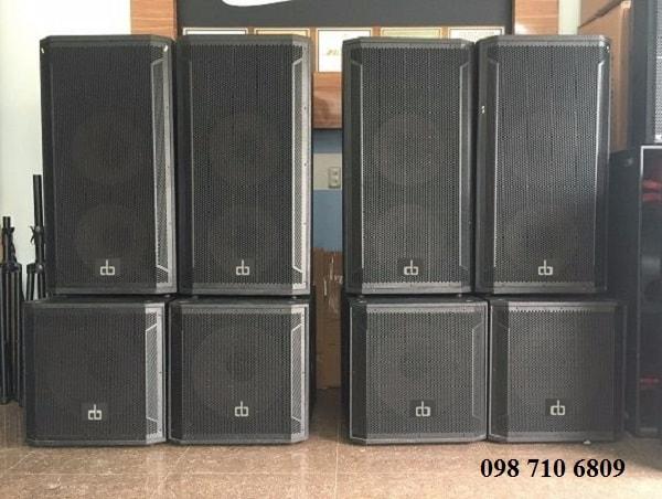 Loa full đôi DB CTX 215 tại Chính Đức Audio