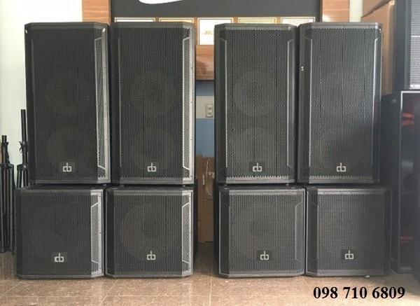 Loa sub đơn DB CTX 118S tại Chính Đức Audio