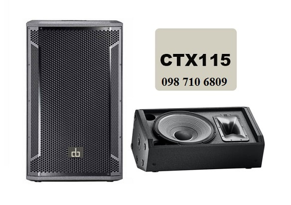 Loa full đơn CTX 115 sang trọng