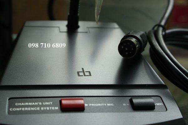 Hộp Micro chủ tọa DB LH-8000A
