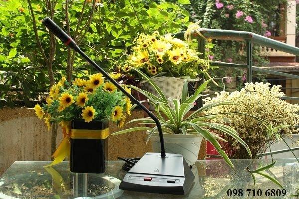 Micro chủ tọa DB LH-8000A chính hãng