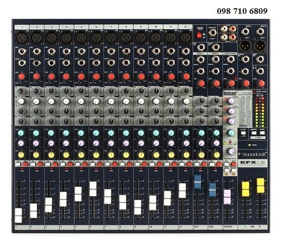 Bàn mixer Soundcraft EFX12 chính hãng