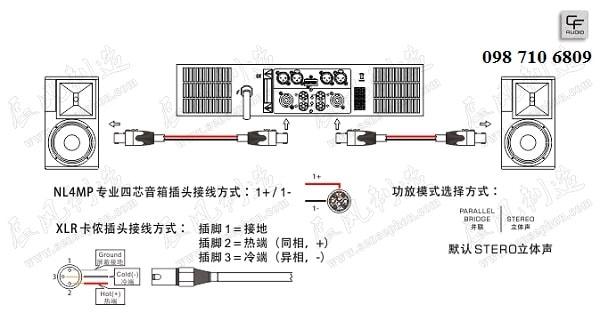 Thiết kế của Loa CF TC 10