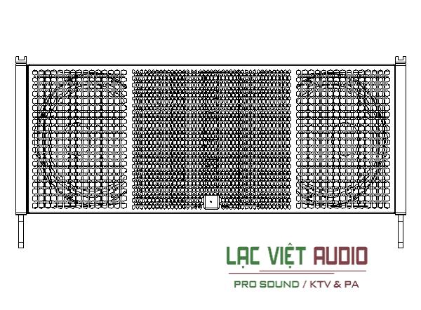 Lưới Loa array CVR W-9B