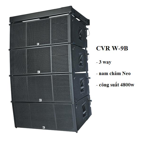 Mặt trước Loa array CVR W-9B