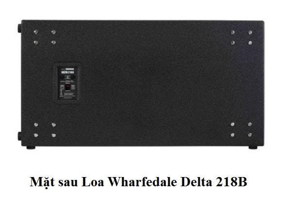 Loa Wharfedale Delta 218B với 2 bass 45cm