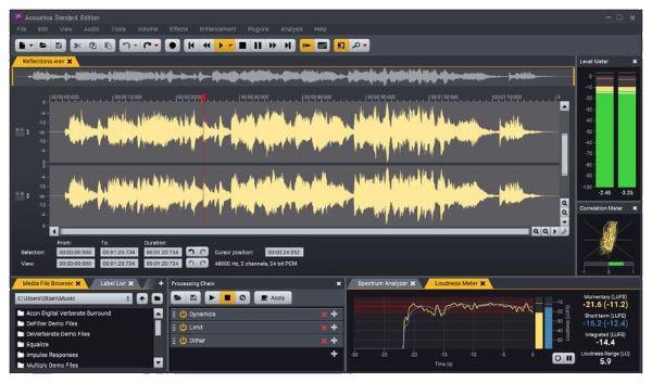 Phần mềm chỉnh sửa âm thanh chuyên nghiệp Acoustica Premium Edition