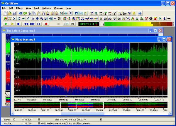 Ứng dụng chỉnh sửa âm thanh đơn giản GoldWave Digital Audio Editor