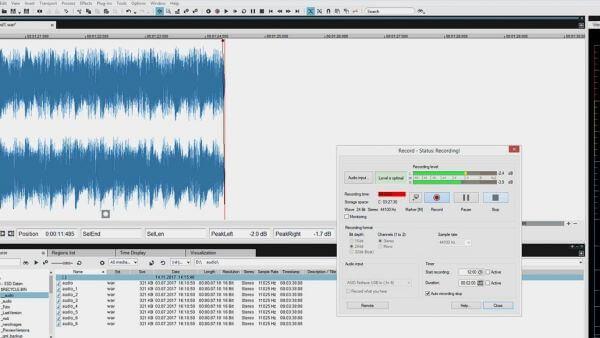 Phần mềm chỉnh sửa nhạc chất lượng cao Sound Forge Audio Studio