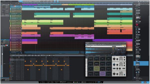 Phần mềm chỉnh âm thanh chuyên nghiệp PreSonus Studio One