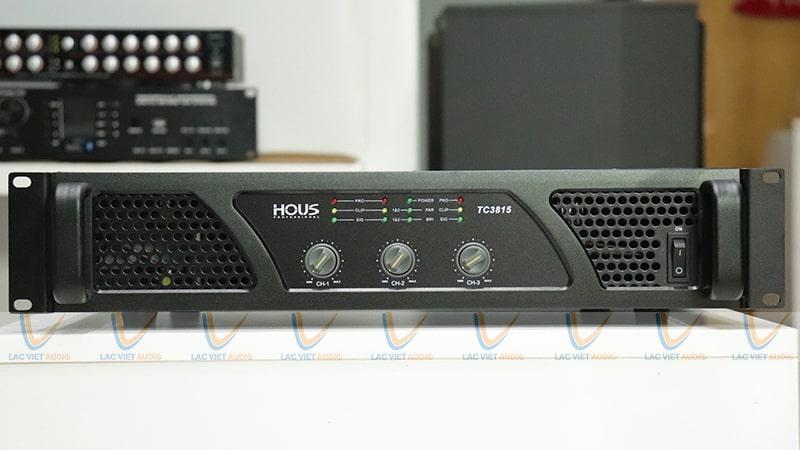 HOUS TC-3815 cao cấp, khuếch đại khỏe khoắn và uy lực