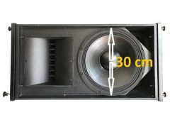 Giá loa array 30 đơn-đôi với bass sịn, âm mượt mà