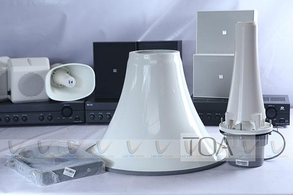 Loa phát thanh TOA TC-631M cho chất âm thanh rõ ràng với khả năng phóng âm cực xa